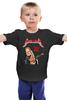 "Детская футболка ""Metallica"" - metallica, рок группа, металлика, james hetfield, джеймс хетфилд"