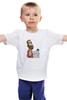 """Детская футболка классическая унисекс """"Чак Норрис дважды досчитал до бесконечности"""" - chuck norris, чак норрис, крутой уокер"""