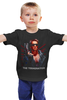 """Детская футболка классическая унисекс """"Терминатор"""" - arnold schwarzenegger, шварценеггер, terminator"""