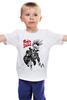 "Детская футболка ""Панки Живы (Punks not Dead)"" - skull, череп, скелет, анархия, punk is not dead"