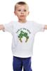 """Детская футболка классическая унисекс """"Ирландская удача"""" - irish, luck, leprechaun, лепрекон"""