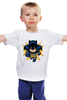 "Детская футболка ""Бэтмен (8-бит)"" - batman, бэтмен, пиксели, 8-бит"