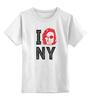 "Детская футболка классическая унисекс ""Escape from New York / Побег из Нью Йорка"" - new york, ny, курт рассел, kurt russell, побег из нью йорка"