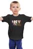 """Детская футболка классическая унисекс """"Moscow"""" - москва, moscow city travel, любимый город"""