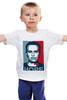 """Детская футболка классическая унисекс """"NH: Мужская"""" - навальный"""