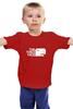"""Детская футболка """"Мир юрского периода"""" - dino, динозавр, t-rex"""