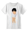"""Детская футболка классическая унисекс """"SWAG*_*"""" - девушка"""