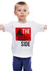"Детская футболка ""Dark Side"" - star wars, звездные войны, темная сторона, darth vaider, the dark side"