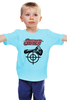 "Детская футболка ""Sniper"" - sniper, снайпер, убийца, киллер, headshot"