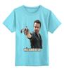 """Детская футболка классическая унисекс """"Rick TWD"""" - ходячие мертвецы, the walking dead, страшилки, amc presents, ходаки"""