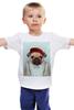 """Детская футболка """"Деловой мопс"""" - модно, rap, стиль, pug, мопс"""
