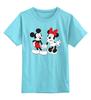 """Детская футболка классическая унисекс """"Мики Маус"""" - дисней, мики маус, mickey mouse, vintage, minnie mouse"""