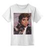 """Детская футболка классическая унисекс """"Майкл Джексон"""" - king, michael jackson"""
