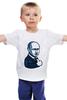 "Детская футболка ""Путин - like"" - россия, путин, like, президент, putin"