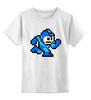 """Детская футболка классическая унисекс """"Mega Man (8-bit)"""" - 8-бит, 8-bit, mega man"""