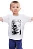 """Детская футболка классическая унисекс """"Красотка Мерилин"""" - красотка мерилин, marilyn monroe"""