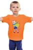 """Детская футболка """"Время приключений """" - adventure time, время приключений, jake, финн"""
