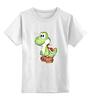 """Детская футболка классическая унисекс """"Yoshi (Mario)"""" - нинтендо, nintendo, mario bros, yoshi, йоши"""
