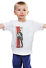 "Детская футболка классическая унисекс ""IL BUONO"" - вестерн, хороший плохой злой, клинт иствуд, kinoart, il buono"