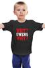 "Детская футболка классическая унисекс ""Why? Owens Why? (WWE)"" - wwe, кевин стин, кевин оуэнс, kevin steen, kevin owens"