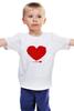 """Детская футболка классическая унисекс """"Валентика из Сердец (14 февраля)"""" - heart, 14 февраля, сердечки"""