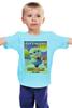 """Детская футболка """"Despicable Me / Гадкий Я / Миньоны"""" - иероглифы, миньоны, гадкий я, minion, kinoart"""