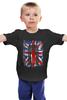 """Детская футболка """"Доктор Кто"""" - doctor who, uk, доктор кто, британский флаг, тардис"""
