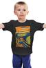 """Детская футболка классическая унисекс """"Крик Миньона (Эдвард Мунк)"""" - гадкий я, minion, эдвард мунк, крик миньона"""