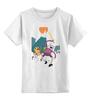 """Детская футболка классическая унисекс """"adventure time"""" - adventure time, время приключений, джейк, jake, мультсериал, finn, финн"""