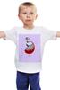 "Детская футболка ""Знаки зодиака. Дева."" - дева, знак зодиака"