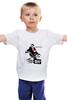 """Детская футболка классическая унисекс """"James Dean Джеймс Дин """" - стиль, легенда, джеймс дин, james dean, бунтарь"""