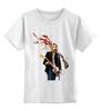 """Детская футболка классическая унисекс """"Kurt Cobain """" - nirvana, рок, kurt cobain, курт кобейн, нирвана"""