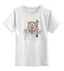 "Детская футболка классическая унисекс ""Ретро"" - ретро, графика, франция"