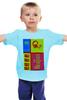 """Детская футболка классическая унисекс """"The beatles"""" - рок, beatles, the beatles"""