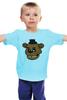 """Детская футболка классическая унисекс """"Пять ночей у Фредди (Five Nights at Freddy's)"""" - пять ночей у фредди, five nights at freddy"""