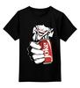 """Детская футболка классическая унисекс """"Джокер (Joke)"""" - joker, джокер, joke, бэтмен, кола"""