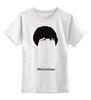 """Детская футболка классическая унисекс """"Пол МакКартни"""" - the beatles, битлы, битлз"""