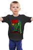 """Детская футболка классическая унисекс """"Зомби"""" - zombie, зомби, иллюстрация, dead"""