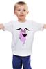 """Детская футболка классическая унисекс """"Собакен - уставакен"""" - прикол, парню, соб"""