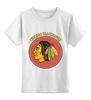 """Детская футболка классическая унисекс """"Чикаго Блэкхокс"""" - хоккей, nhl, нхл, чикаго блэкхокс, chicago blackhawks"""