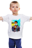 "Детская футболка ""Борода Моряк byEVA.ru"" - тату, борода, sailor, моряк"