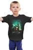 """Детская футболка """"Пришельцы"""" - лондон, нло, биг бен, ufo, пришельцы"""