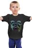 "Детская футболка классическая унисекс ""Черепа"" - skull, череп, tattoo, тату, hardcore, хардкор"