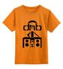 """Детская футболка классическая унисекс """"dnb listen it"""" - dnb, drum, drum&bass, d&b, драм-н-бэйс"""