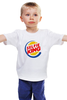 """Детская футболка классическая унисекс """"Король Селфи (Selfie King)"""" - пародия, селфи, selfie, burger king"""
