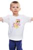 """Детская футболка классическая унисекс """"Fluttershy"""" - pony, mlp, пони, флаттершай"""