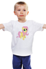 "Детская футболка ""Fluttershy"" - pony, mlp, пони, флаттершай"