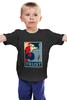 """Детская футболка классическая унисекс """"Naruto (Наруто)"""" - naruto, наруто, obey, trust"""