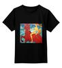 """Детская футболка классическая унисекс """"Купание красного коня"""" - картина, петров-водкин"""