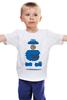 """Детская футболка классическая унисекс """"Печеньковое Чудовище"""" - коржик, печеньковое чудовище, cookie monster, бисквитный монстр"""